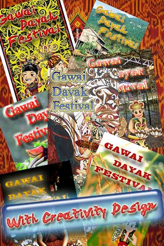 Gawaiダヤック祭りの楽しみ