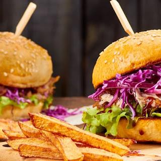 Shredded Buffalo Chicken Sandwiches Recipe