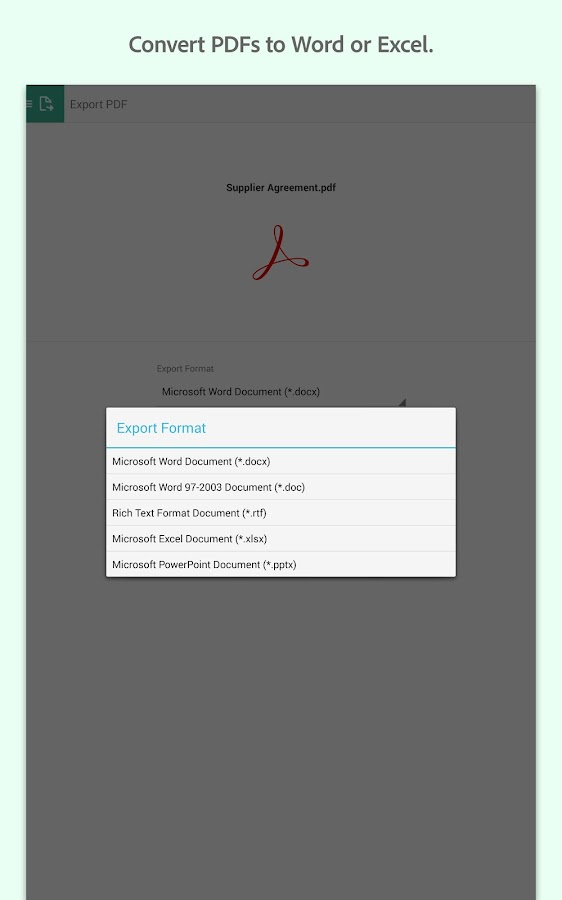 Adobe Acrobat Reader- screenshot