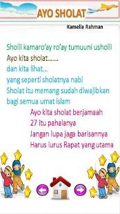 Lagu Anak Muslim Juzamma screenshot 12