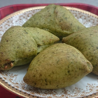 Cocktail Spinach Samosa in Philips Air Fryer Recipe