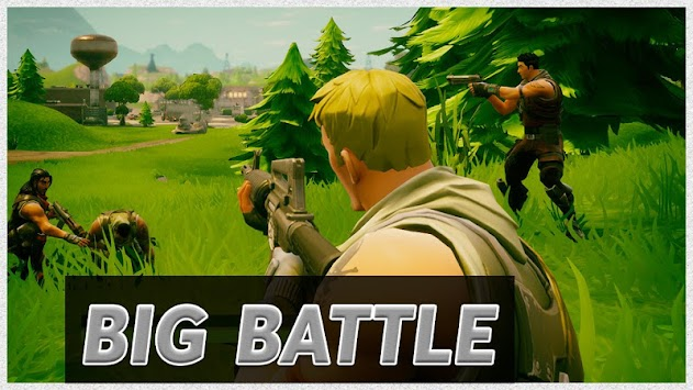 Blitz Battle Big Fortnit apk screenshot