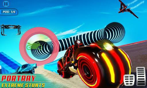 Mega Ramp Light Bike Stunts: New Bike Racing Games apktreat screenshots 1