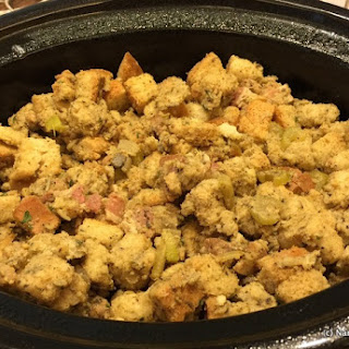 Bacon and Sausage Stuffing