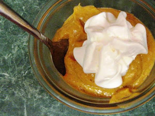 Gingered Pumpkin Mousse
