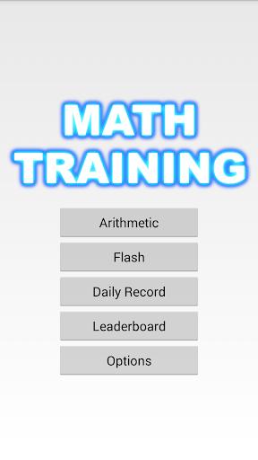 Math Training FTSG