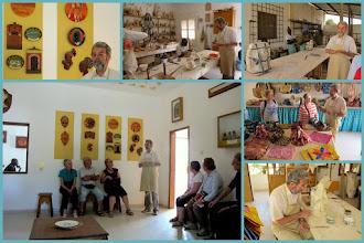 Photo: Sn1P0510-160205Père Emmanuel Zanaboni, fondateur St Blaise, Savoigne, présentation projet et ateliers Mont.JM_JPG