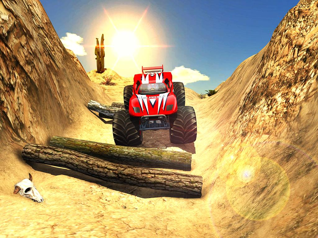 Screenshots of Off road Monster Truck Derby for iPhone