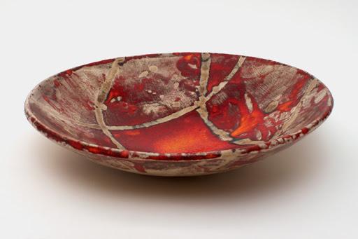 Bruce Chivers Ceramic Raku Charger 01