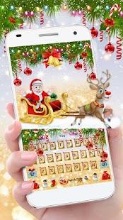 Vánoční Bell klávesnice Téma - náhled