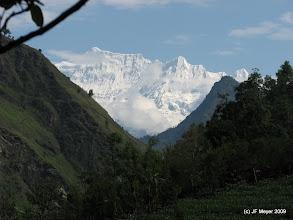 Photo: Montée vers Boghara vers le camp de base du Dhaulagiri