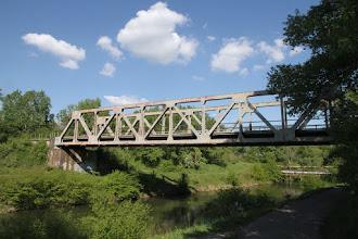 Photo: Železničný most pri Slovnafte