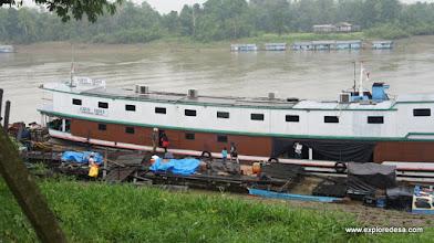 Photo: House Boat from Long Bagun to Samarinda