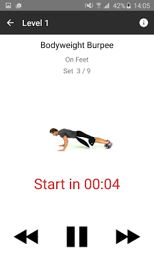 Fitway: Daily Chest Workout - screenshot