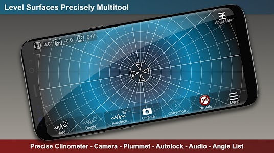 Download Clinometer, Spirit Level, Protractor, Bubble Level APK