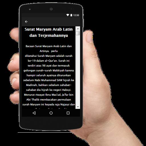 Surat Maryam Arab Latin Terjemahannya Terlengkap Android