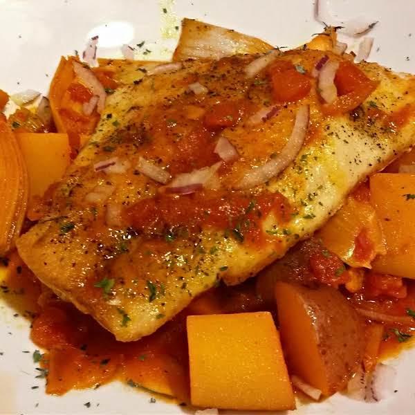 Red Snapper In A Saffron-tomato Broth With Articho