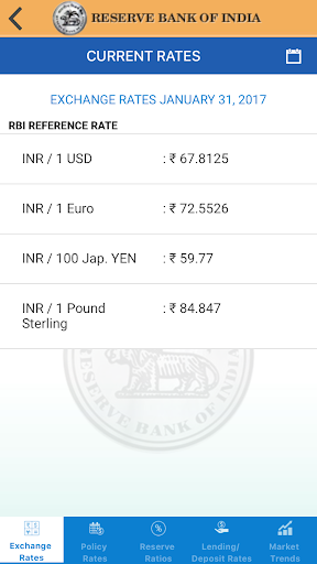 Reserve Bank Of India Screenshot 3