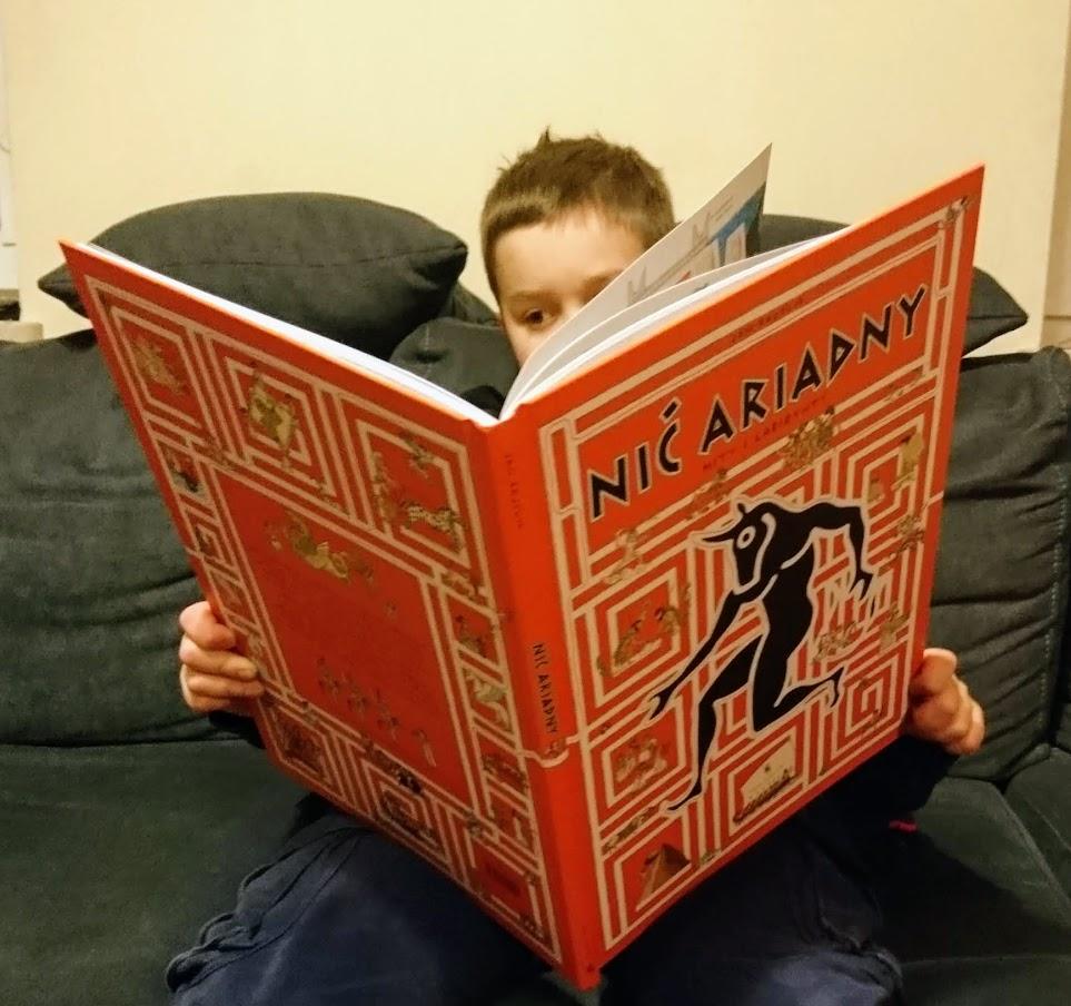 Piotr czyta Nić Ariadny