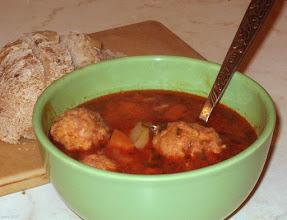 Photo: Zupa z gałkami mięsnymi (37)
