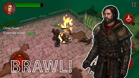 Mod Game Ancient Rivals: Dungeon RPG for Android