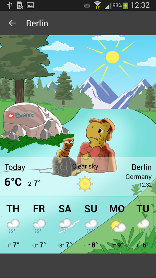 Weather by Miki Muster- screenshot