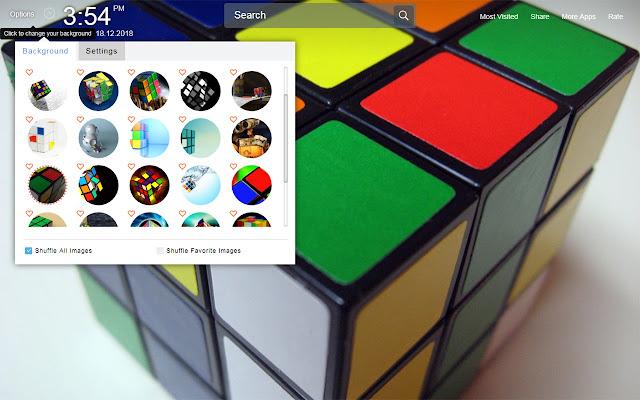 Rubiks Cube Wallpapers Theme New Tab