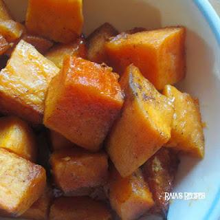 Honey Spiced Sweet Potatoes