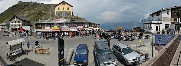 Photo: Jest to najwyższa przejezdna przełęcz we włoskich Alpach Wschodnich, którą można pokonać samochodem.