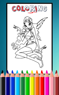 Download How To Color Winx Club Game For PC Windows And Mac Apk Screenshot 2