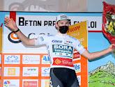 Jordi Meeus is deze keer de rapste in de sprint en pakt de overwinning in Hongarije