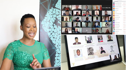 Communications and digital technologies minister Stella Ndabeni-Abrahams delivered the opening ceremony's keynote address.