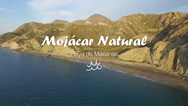 Imagen del vídeo 'Mojácar Natural' donde muestra las bellas calas de la localidad.