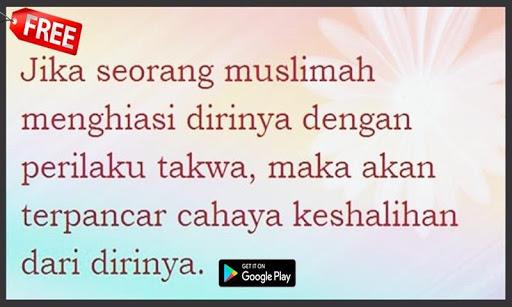 Kata Mutiara Wanita Sholehah Quotemutiara