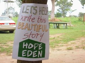 Photo: Visit to Hope Eden Village 2014