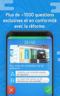 code de la route 2017 app report on mobile action. Black Bedroom Furniture Sets. Home Design Ideas
