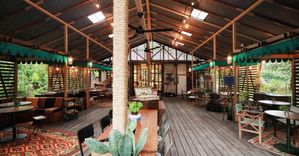 TBB's restaurant with a wonderfully designed atmosphere