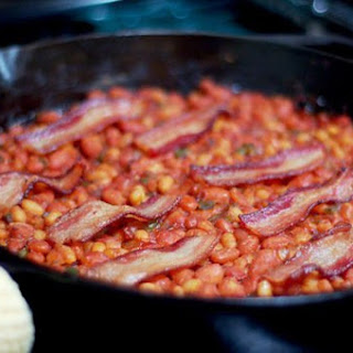 Quick Southern-Style Baked Beans from Pioneer Woman