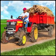 Heavy Duty Tractor Cargo Transporter 3D