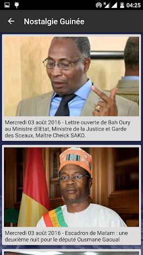 Nostalgie Guinée for PC