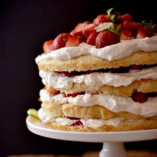Rustic Raspberry Strawberry Shortcake