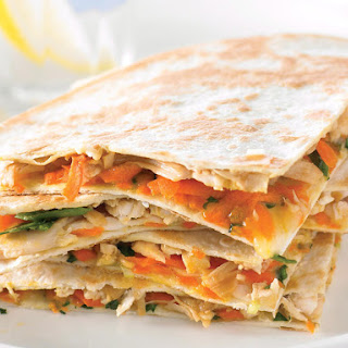 Chicken Quesadilla with Oyster Sauce