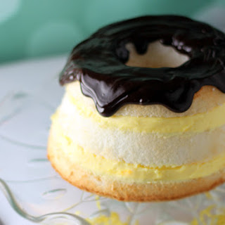 Easy Layered Boston Cream Pie