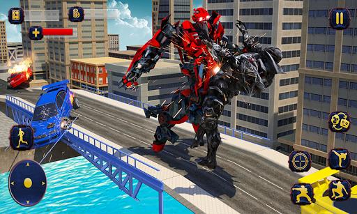 Wild Gorilla Transforming Robot: Dino Hunting Game 1.0 screenshots 4