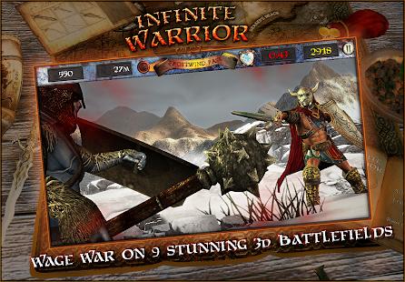 Infinite Warrior Remastered- screenshot thumbnail