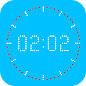 Nice Clock WallPaper