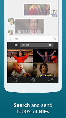 Fleksy + GIF Keyboard 6.2.2 screenshot 26013