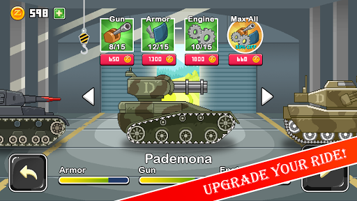 Funny Tanks 2.0 screenshots 5