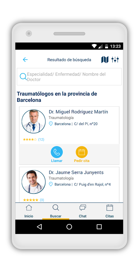 Top Doctors App- screenshot