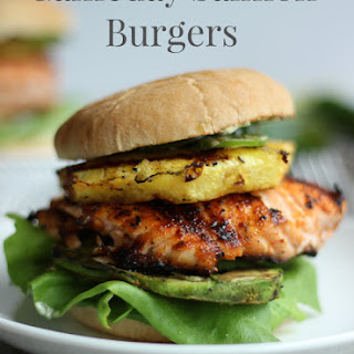 Gameday Salmon Burgers.
